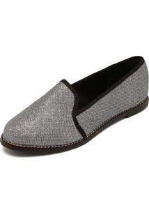 Slipper Dafiti Shoes Glitter Prata