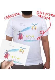 efafbbc293 Camiseta Do Futuro Artista - Camiseta Clássica Masculina