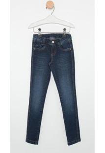 Calça Jeans Infantil Express Skinny Leticia Feminina - Feminino