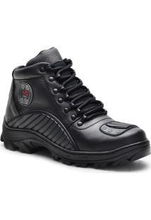Bota Dr Shoes Adventure Masculino - Masculino-Preto