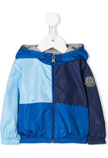 Moncler Kids Foma Hooded Jacket - Azul