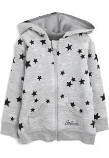 Casaco Calvin Klein Kids Menino Estrelas Cinza