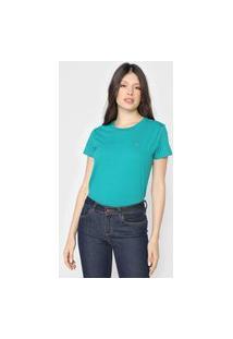 Camiseta Tommy Jeans Logo Verde