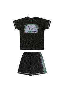 Pijama Infantil Juvenil Masculino Game Elian