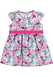 Vestido Verão Tropical - Pulla Bulla - Feminino