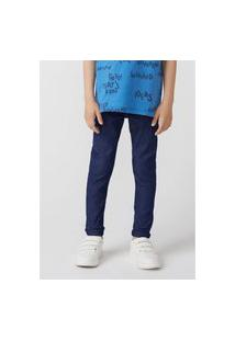 Calça Hering Kids Jeans Infantil Skinny Azul