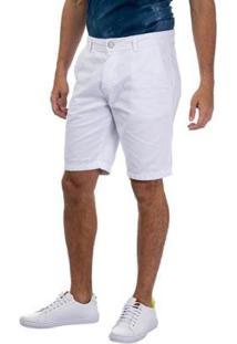 Bermuda Chino Esporte Tng Masculina - Masculino-Branco