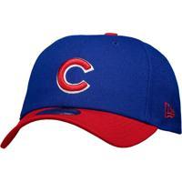 Boné New Era Mlb Chicago Cubs 940 Azul E Vermelho e0da59c3974