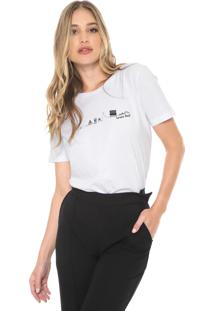 Camiseta Carmim Brasil Branca