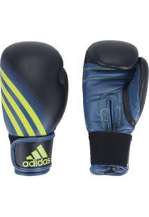 cbdeca720 Luvas De Boxe Adidas Speed 100 - 6 Oz - Adulto - Preto Amarelo Fluor
