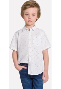 Camisa Infantil Masculina Milon Tricoline 12005.0001.10