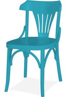 Cadeira Opzione Acabamento Azul - 14216 - Sun House