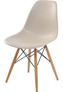 Cadeira Eiffel Polipropileno Cor Nude