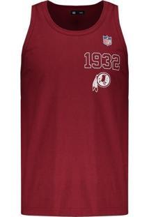 a773ca4835 Regata New Era Nfl Washington Redskins Escudo Bordô