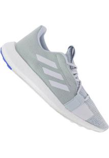 Tênis Adidas Senseboost Go - Feminino - Azul Cla/Azul