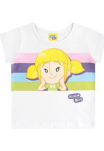 Blusa Infantil Kamylus Mundo Bita Feminina - Feminino