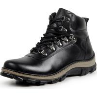 377171c9d Bota Coturno Casual Masculino Top Franca Shoes Preto