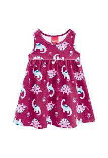 Vestido Infantil Kyly Rosa