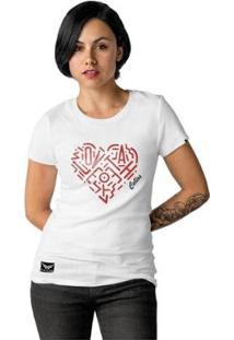 Camiseta Cellos Heart Premium Feminina - Feminino