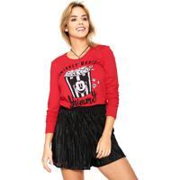 b571edfa24 Blusa Cativa Disney Estampada Vermelha