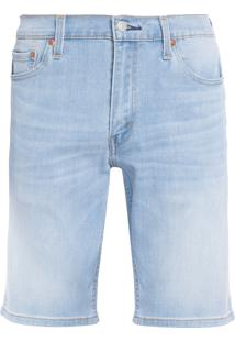 Bermuda Masculina Jeans 511 Slim Hemmed - Azul