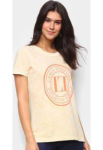 Camiseta Lança Perfume Tie Dye Lp Feminina - Feminino-Laranja