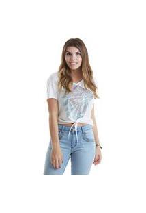 T-Shirt West Dust Cocar Off-White
