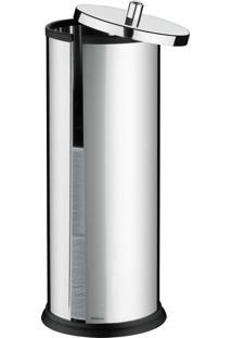 Porta-Papel Higiênico Brinox Cinza