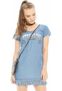 Vestido Rovitex Teen Azul