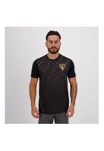 Camisa Sáo Paulo Messina Preta
