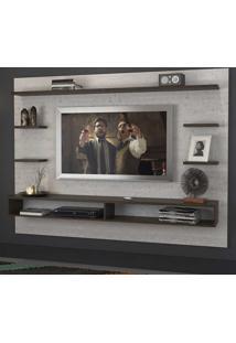 Painel Para Tv Até 55 Polegadas 1029 Branco Tx/Málaga - Foscarini