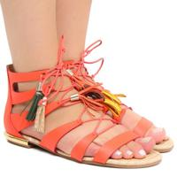 074735b4d Rasteira Couro Tanara feminina | Shoes4you