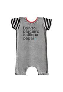 Pijama Curto Comfy Papai
