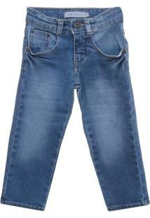 Calça Skinny Jeans - Vr Kids - Masculino-Azul