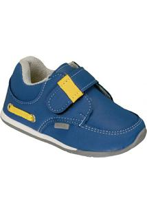 Tênis Infantil Pinokio Ternura Masculino - Masculino-Azul