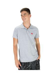 Camisa Polo Ecko E844A - Masculina - Cinza