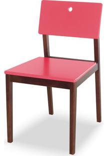 Cadeira Flip Cor Cacau Com Rosa - 30828 - Sun House