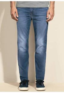 Calça Jeans Masculina Skinny Eco Edition Com Lavação