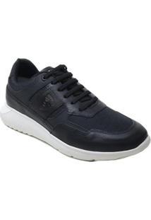 Tênis Ferracini Sneaker Elektra Dry Masculino - Masculino-Preto