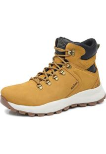 Bota Adventure Cano Alto Macboot Imeri Amarelo