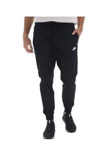 Calça Nike Jogger Woven Core Street - Masculina - Preto