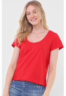 Camiseta Forum Logo Vermelha