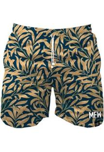 Bermuda Maromba Fight Wear Fashion Sheets Com Bolsos Masculina - Masculino-Azul