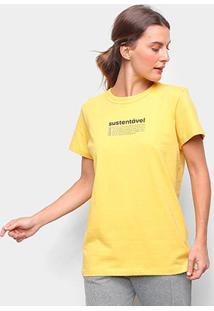 Camiseta Colcci Sustentável Feminina - Feminino