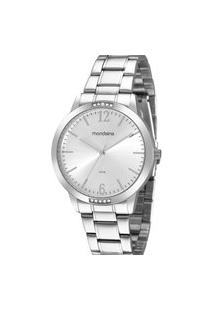 Relógio Feminino Analógico Prata Mondaine - 99598L0Mvne3 Prata