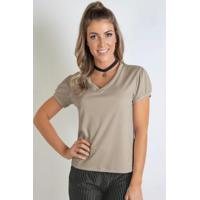 8ca352b2a Blusa Decote V Moda Pop feminina | Shoes4you