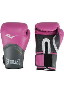 ff940b25e Luvas De Boxe Everlast Pró Style Training - 14 Oz - Feminina - Rosa
