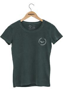 Camiseta Forseti Estonada Enviroment Verde - Kanui