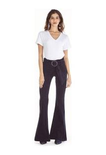 e3b0f725c Calca Jeans Camila Cos Intermediario Com Cinto Jeans