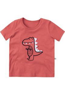 Camiseta Infantil Bebê Menino Bordado Hering Kids